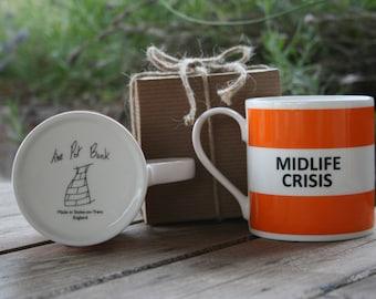 Midlife Crisis Hoop Mug