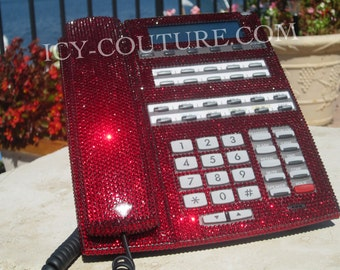 Crystal Bling Home Telephone with Swarovski Crystals