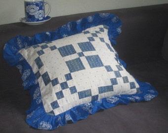 Vintage Patchwork Pillow Case