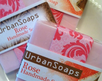 Urban Soaps Rose Soap