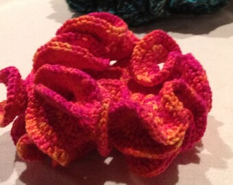 Pink and Orange 3D Coral Decoration