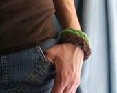 Set of 2 bracelets 100% Cotton Bracelets, Washable, brastfeeding bracelet, teething bracelet - Choose any 2 colors