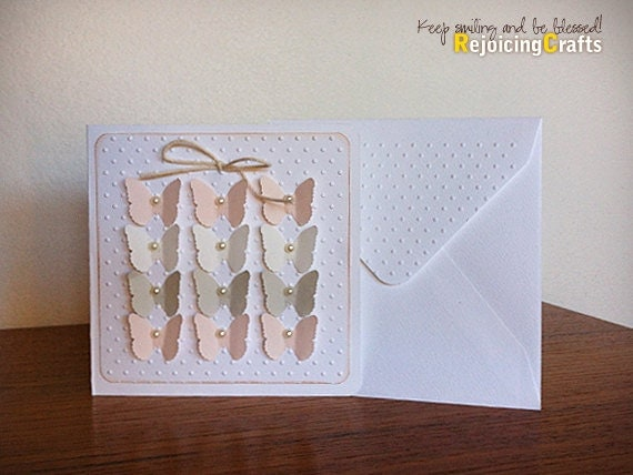 Items similar to Handmade Baby Girl Card - New Baby, Baby ...
