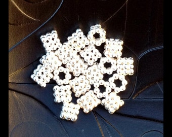 20 STERLING SILVER Spacer Beads