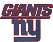 New York Giants, Football Team Logo,13 Machine Embroidery Design Files