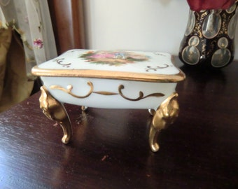 Limoges, Jewelry Box, intact