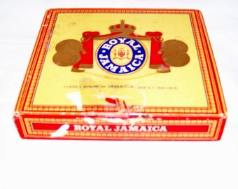 Royal Jamaica  cigar box