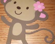 monkey baby shower decorations all hand crafted adorable party