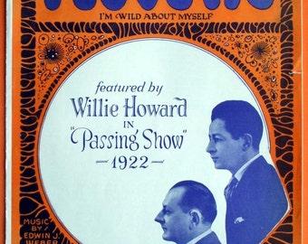 I Love Me - 1923 Vintage Sheet Music