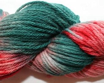 Hand Dyed 100% Merino Worsted Weight Yarn ...soft (76)