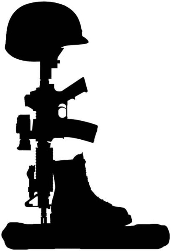 Items Similar To Fallen Soldier Vinyl Decal 6 Yr Life