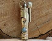 Gift, Handcrafted Gift, Lighter, Brass Lighter,  Unisex Gift, Brass & Copper Lighter