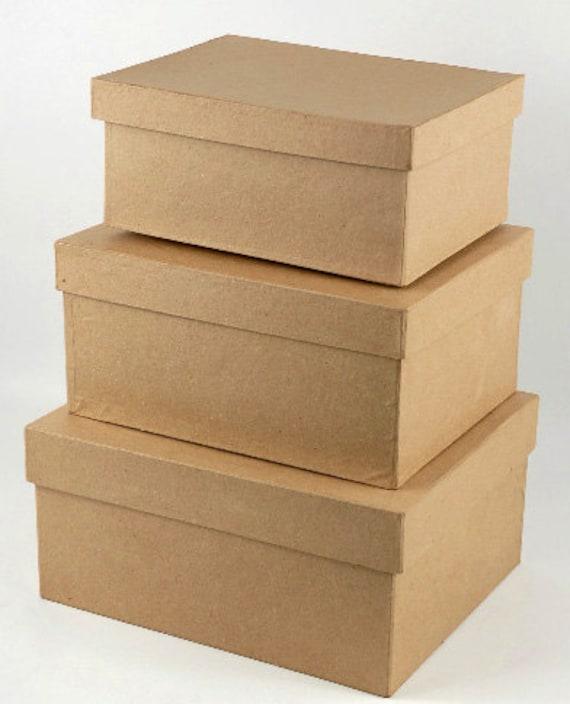 Items Similar To Diy Rectangle Wedding Card Box Wedding