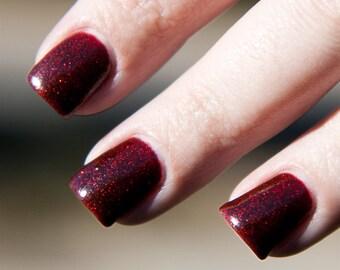 Sparkly Vampire Handmade Nail Polish 5ML