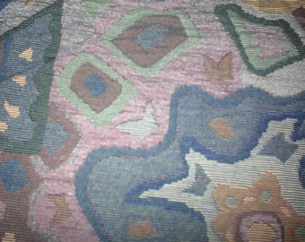 Canvas like fabric Fun Fabric one and one half yds at 15.00 per yd.