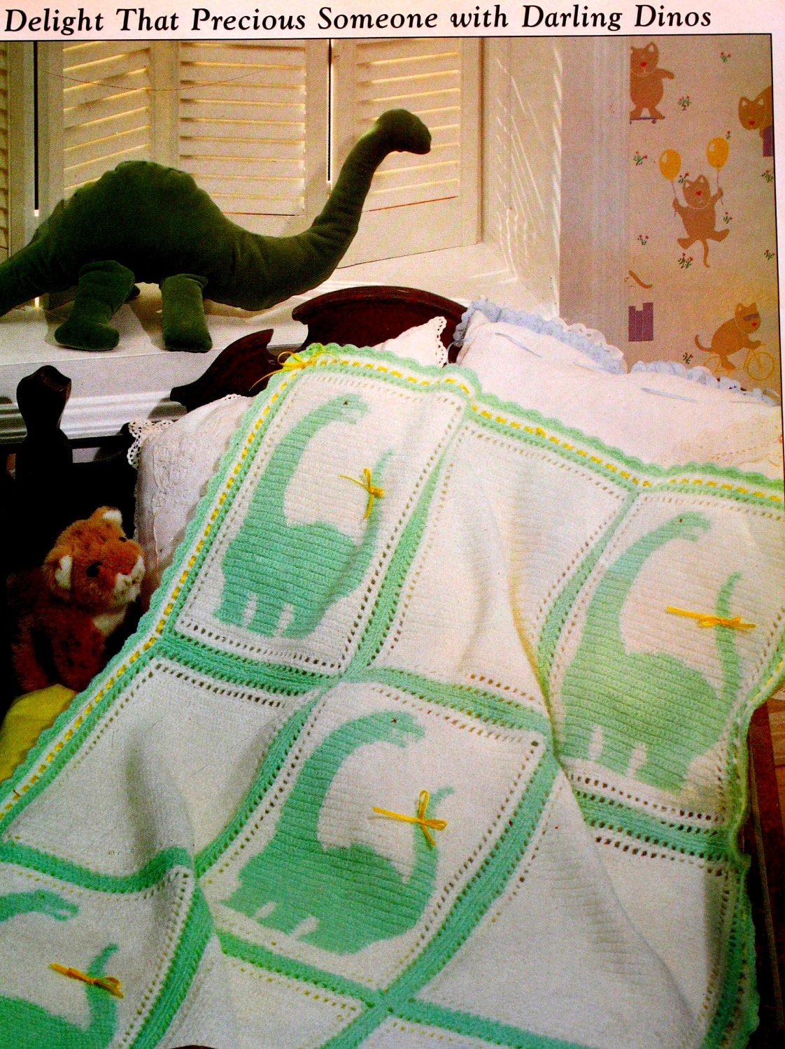 Crochet Dinosaur Afghan Pattern : Crochet Dinosaur Blanket Pattern. Plus added by ...