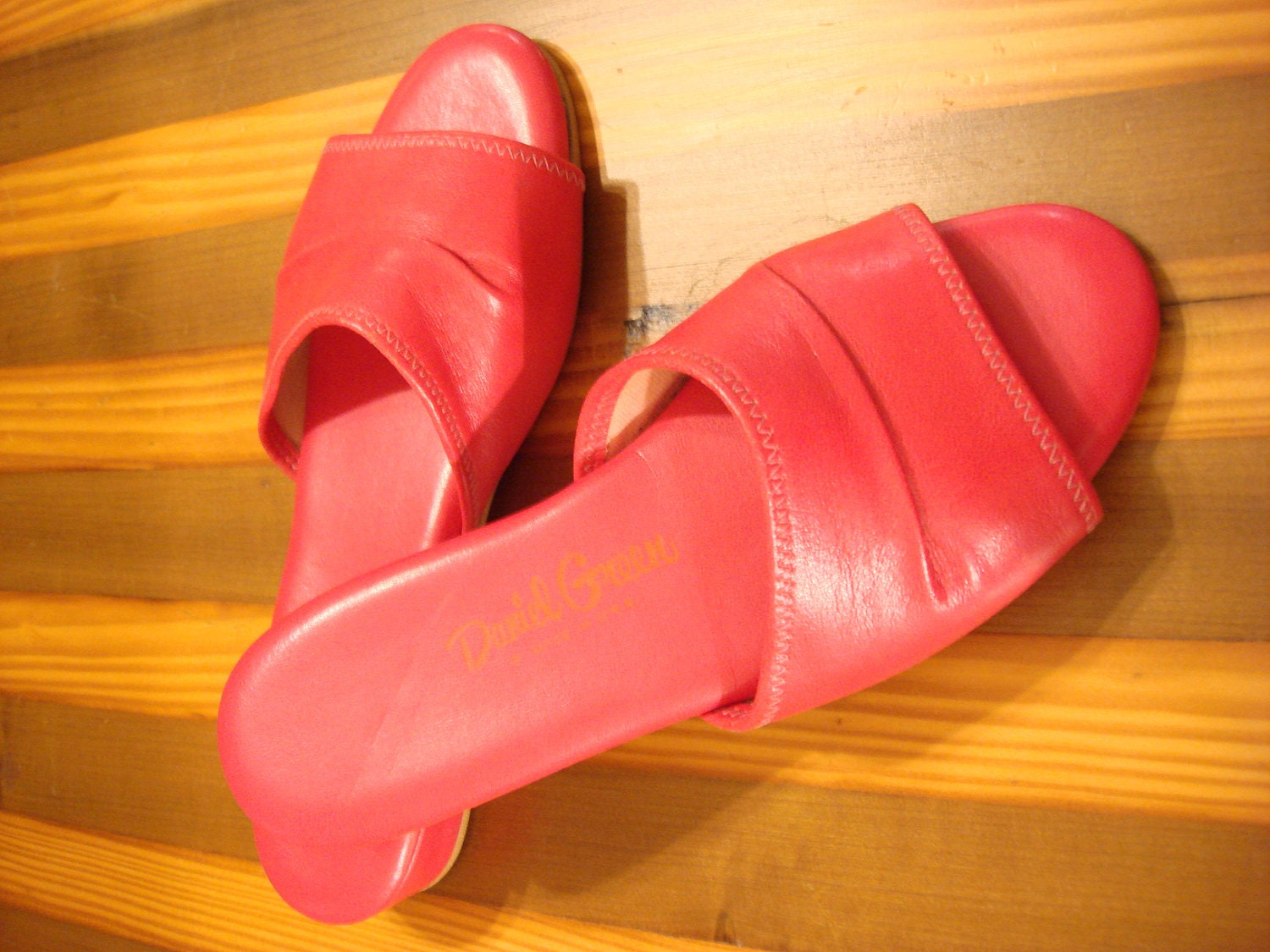 vintage womens daniel green house slippers pink house shoes