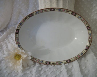 Vintage Fine China Serving Bowl