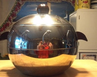 1950's Westbend penquin stainless ice bucket