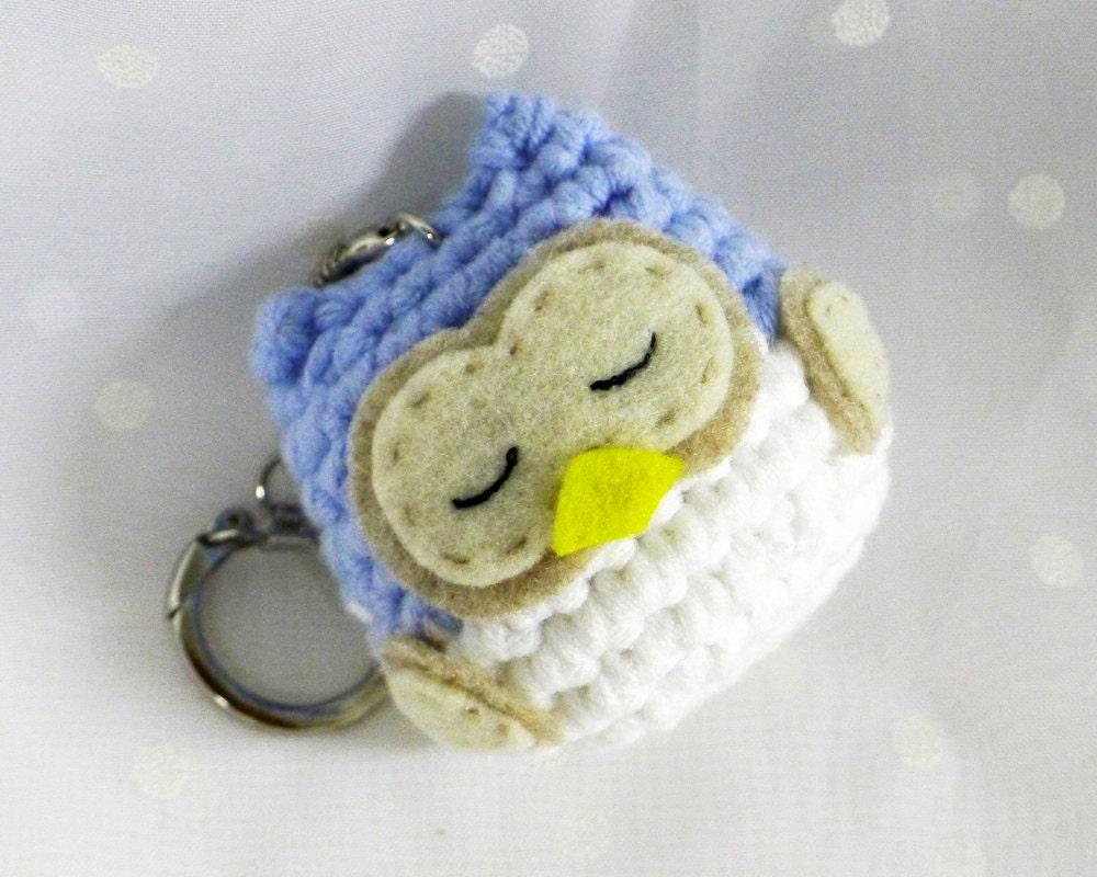 Amigurumi Owl Keychain : Chandeliers & Pendant Lights