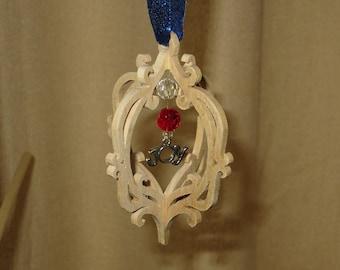 Handmade Scroll Saw Ornament