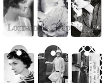 Coco Chanel Gift Tags