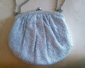 Perfect Little Vintage Purse in Silver