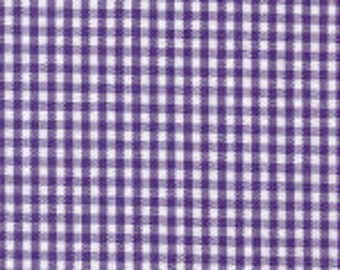 """1/16"""" GRAPE Fabric Finders Gingham"""