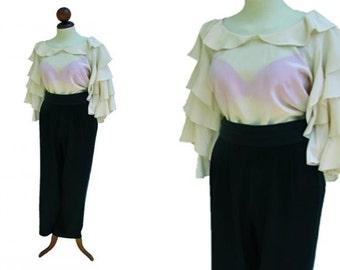 VINTAGE DIOR  blouse