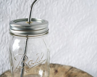 Mason Jar to go Cup - never throw another cup away
