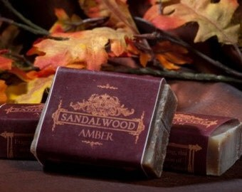 Soap Bars - Sandalwood Amber