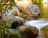 Fine Art Photography Home Decor Slide Rock Waterfall Sedona Arizona