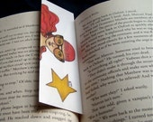 Looking Glasses Bookmark OOAK w/ Teacup Necklace on Back
