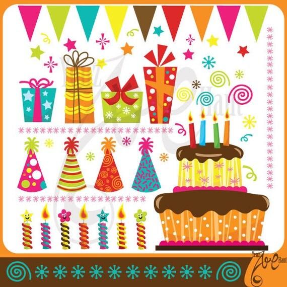 Birthday ClipArt BIRTHDAY PARTY clip art