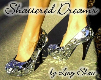 Gorgeous Shattered Glass Heels
