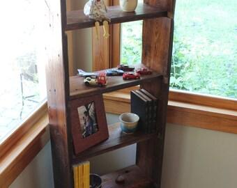 Simple Bookshelf Reclaimed NC Heart Pine