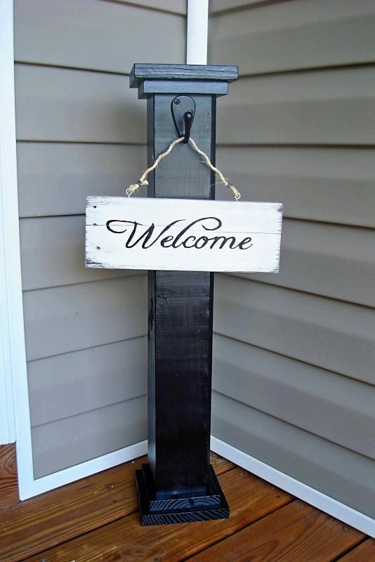 Cheapest Shipping Options >> Front Porch Welcome Sign