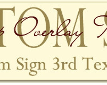 Design A Sign - Custom Family Last Name Sign