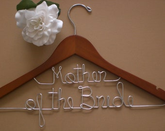 Personalized Hanger/Personalized Wedding Hangers/Personalized Custom Wedding Hanger/Weddings/Bride/Wire Hangers.