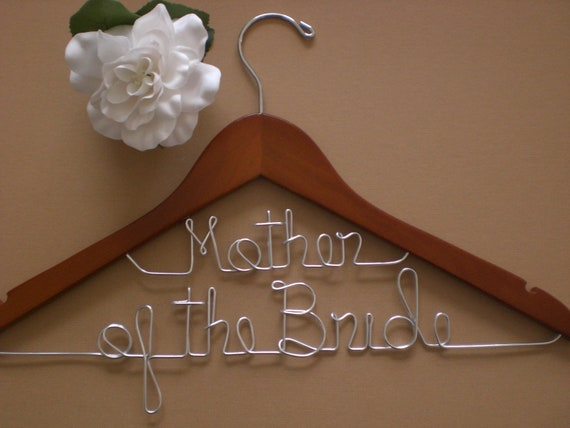 Personalized hanger personalized wedding hangers personalized for Personalized wire wedding dress hanger