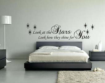 Coldplay Quote Vinyl Wall Art Sticker, Decal
