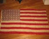 48 Star American Flag - linen, Valley Forge Flag Company