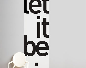 Let It Be - Wallpaper - Color Print