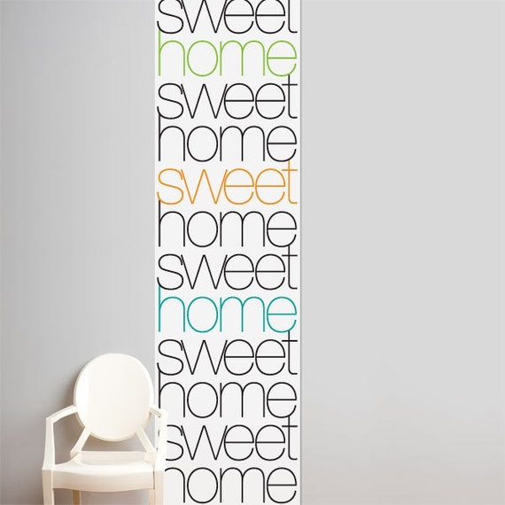 Home sweet home wallpaper color print for Sweet home wallpaper jogja
