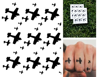 Air Force - temporary tattoo (Set of 2)