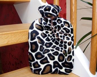 Hot water bottle cover giraffe hot water bag