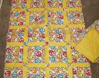 CLOSE OUT Kids quilt and matching Pillow Mattress,