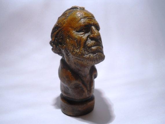 PIPE-Charles Bukowski-ceramic handmade smoking pipe