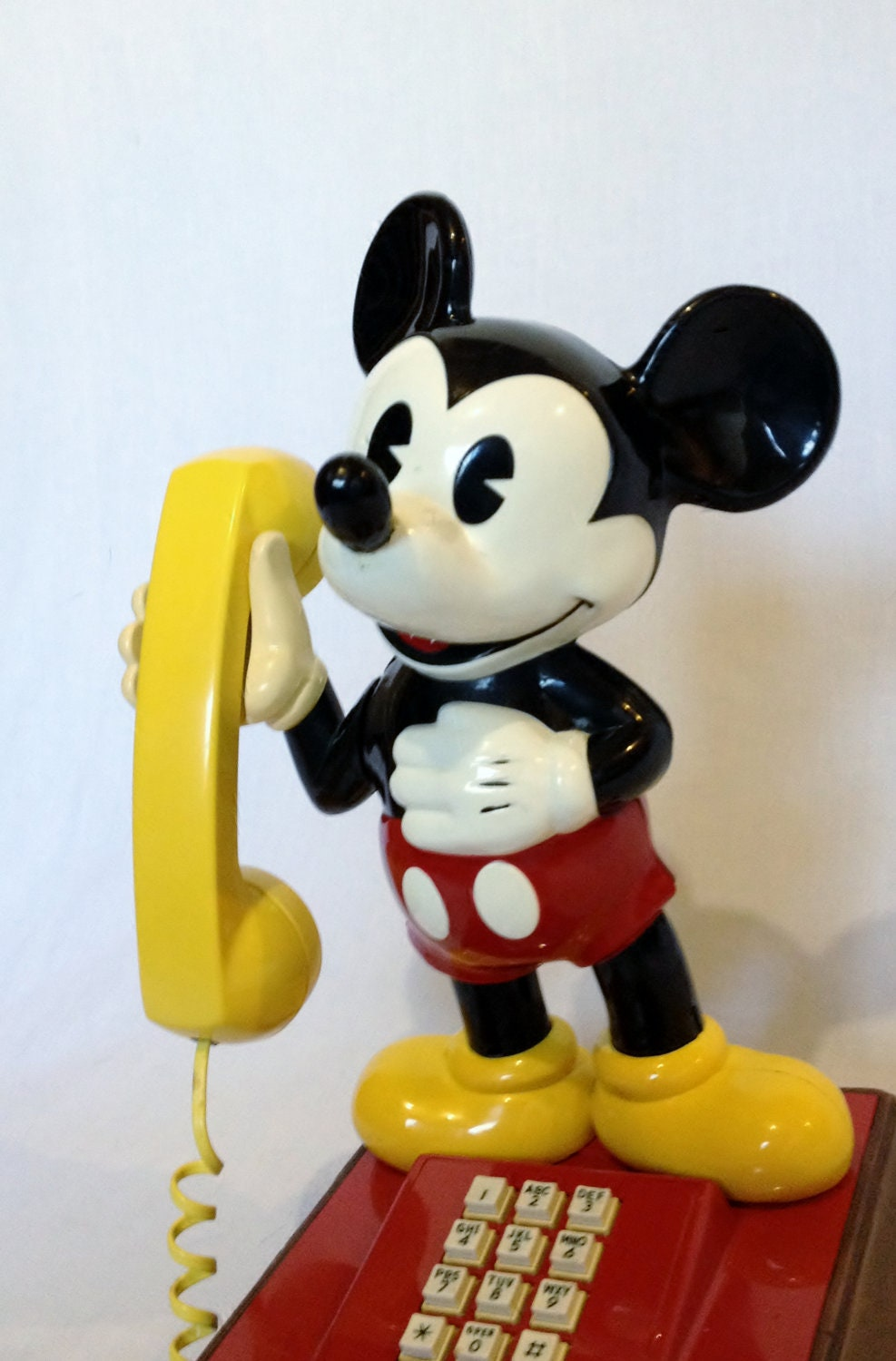 1970s Collectible Mickey Mouse Telephone