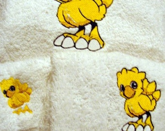 Chocobo Towels